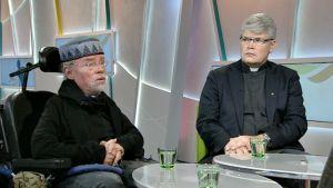 Kalle Könkkölä ja Rolf Steffansson.