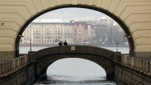 Näkymä Pietarin kaupungista.