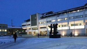 Lappeenrannan kaupungintalo joulukuussa 2014.