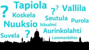 Helsingille nimi?