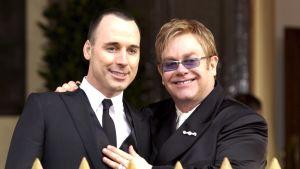 Sir Elton John ja David Furnish