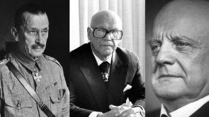 Mannerheim, Kekkonen, Sibelius