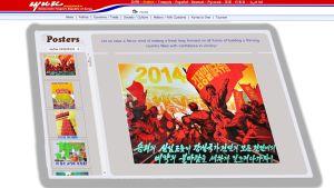 Pohjois-Korean www. palvelin