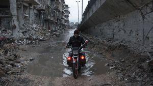 Katunäkymä Alepposta.