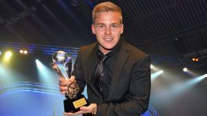 Global Rallicross -sarjan mestari Toomas Heikkinen Joensuusta kruunattiin vuosi sitten Vuoden 2013 autourheilijaksi.