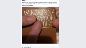 "Väinö Linna: ""Maton tila"""