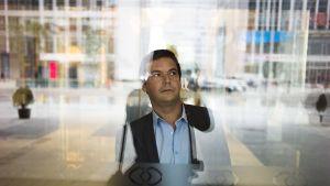 Ranskalainen taloustieteilijä Thomas Piketty valokuvattuna Pekingissä 15. marraskuuta.