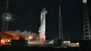 SpaceX-yhtiön raketin lähtölaskenta keskeytettiin.