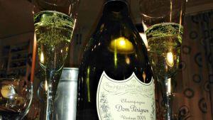 Dom Perignon 2004 sampanjaa.