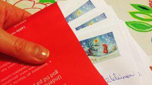 Joulupostikuori ja kirjeitä