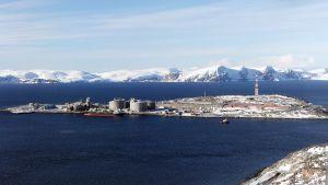 Hammerfest LNG plant at Melkøya