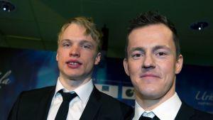 Iivo Niskanen ja Sami Jauhojärvi