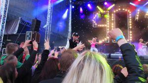 Waldo's People esiintyi We love the 90's -festivaalilla Helsingissä viime elokuussa