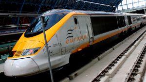 Eurostar juna.