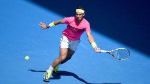 Rafael Nadal Australian avoimissa.