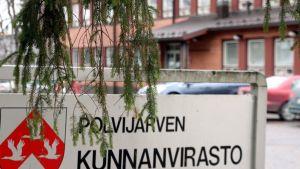 Polvijärven kunnanvirasto.