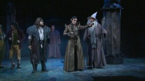 Imatran teatteri Hobitti näytelmä satu