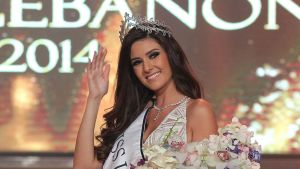 Miss Libanon Saly Greige.