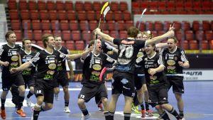 SSV juhlii Suomen cupin voittoa