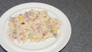 Kaiser-salaattia.