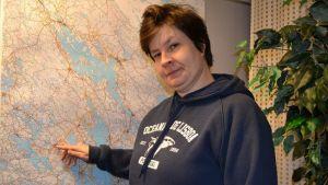 Anu Arresto, Pohjois-Karjalan kartaa