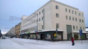 Kainuun Sanomien toimitus Kajaanin keskustassa