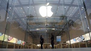 Apple myymälä Santa Monicassa.