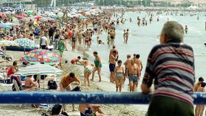 Uimaranta Alicantessa.