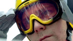 Janne Ahonen Oberstdorfin mäessä mäkiviikolla 2003.
