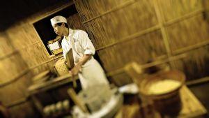 Tofun valmistusta Japanissa.