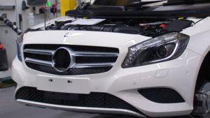 Mercedes-Benz Uudenkaupungin autotehtaan hihnalla