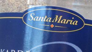 Santa Maria maustepurkin kylki