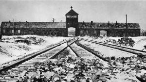 Auschwitzin keskitysleirillä Puolassa.