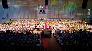 Metkuillaan-suurkuorokonsertti Lappeenrannan Urheilutalolla 17.2.2015.
