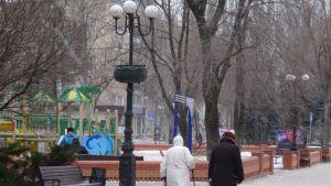 Donetskin keskustaa