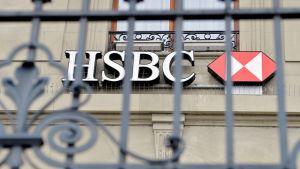 HSBC-pankin konttori Genevessä.