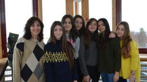 Lukiolaisia Alicantesta vieraili Liminganlahdella