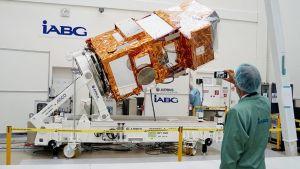Münchenissa esiteltiin Sentinel 2 -satelliitti.