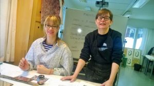 Sini-Georgia Tsiros ja Mirja Mäki, Kuusamo
