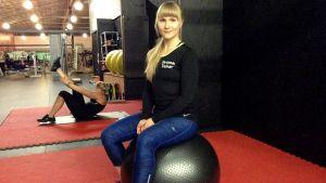 Kuntokeskus Hukan personal trainer Maikki Marjaniemi.