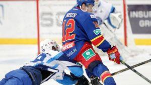 Steve Moses avasi maalihanat KHL-pudotuspeleissä