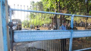 Wärtsilän alihankkijan Echjay Forgingsin tehdas Honandin kylässä, Maharasthrassa.