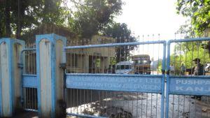 Wärtsilän alihankkijan, Echjay Forgingsin tehdas Honandissa, Maharasthrassa