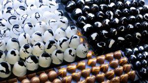 Käsintehtyjä suklaita