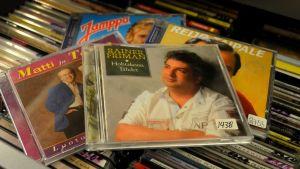 cd-levyjä
