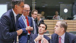 EU:n maatalausministerit kokoontuivat Brysselissä 5. maaliskuuta keskustelemaan Venäjän asettamista tuontikielloista,