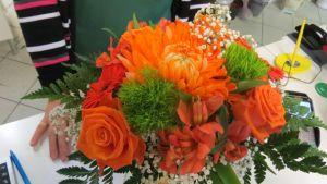 Kukkakimppu, asetelma, naistenpäivä