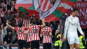 Bilbao voitti Cristiano Ronaldon edustaman Real Madridin maalein 1-0.
