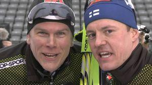 Matias Strandvall ja Sami Jauhojärvi