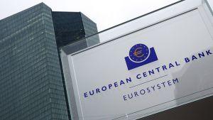 Euroopan keskuspankki Frankfurtissa 22. tammikuuta 2015.